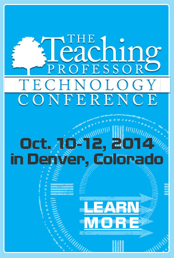 Teaching Professor Tech Conference