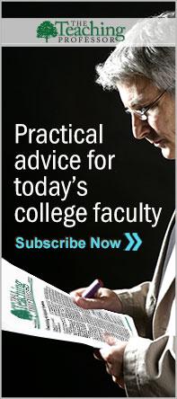 Purchase The Teaching Professor Newsletter