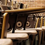 old-style lecture hall