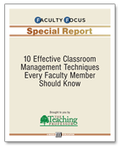 10 Effective Classroom Management Techniques Every Faculty Member Should Know