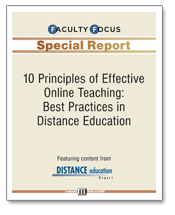 10 Principles of Effective Online Teaching: Best Practices in Distance Education