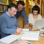 teacher-adult-students-library230