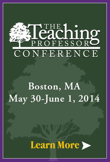 Teaching Professor Conference 2014